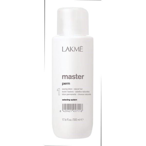 Master Perm 1 Waving Lotion Cheminio garbanojimo preparatas natūraliems plaukams, 500 ml