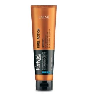 Lakme K.style Curl Action Hottest Curl Activator Gel Garbanų aktyvavimo gelis, 150 ml | inbeauty.lt