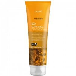 Teknia Ultra Gold Treatment Kaukė aukso spalvos plaukams, 250 ml