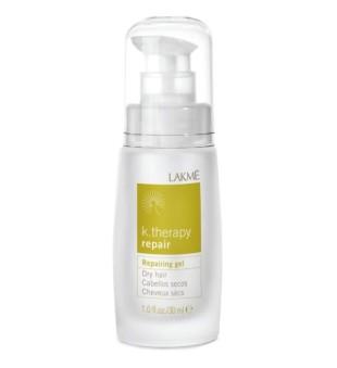 Lakme K.therapy Repair Repairing Gel Nenuplaunamas gelis pažeistiems plaukams, 30 ml | inbeauty.lt