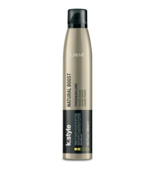 Lakme K.style Natural Boost Thick & Volume Flexible Mousse Purumo suteikiančios putos, 300 ml | inbeauty.lt