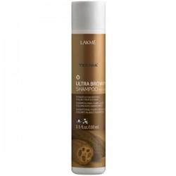 Teknia Ultra Brown Shampoo Šampūnas ruda spalva dažytiems plaukams, 100 ml