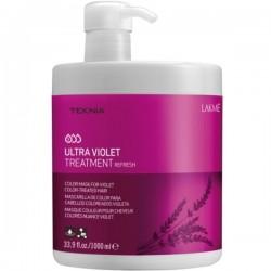 Teknia Ultra Violet Treatment Kaukė violetine spalva dažytiems plaukams, 1000 ml