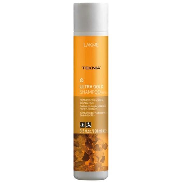 Teknia Ultra Gold Shampoo Šampūnas aukso spalvos plaukams, 100 ml