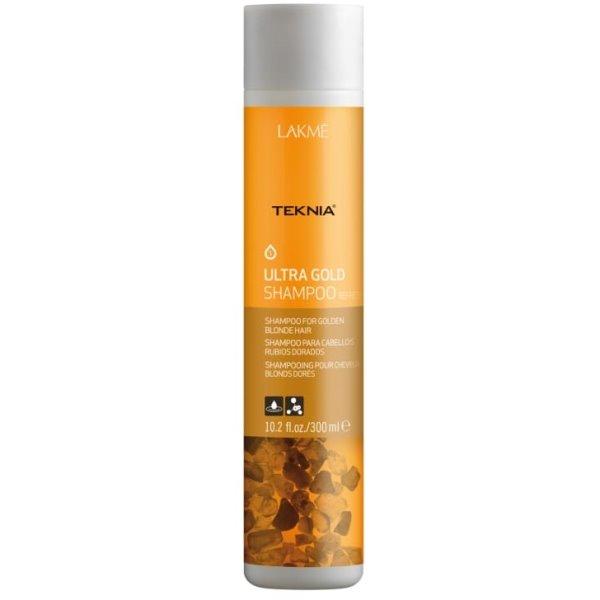 Teknia Ultra Gold Shampoo Šampūnas aukso spalvos plaukams, 300 ml