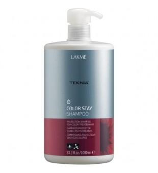 Lakme Šampūnas dažytiems plaukams TEKNIA COLOR STAY, 1000 ml | inbeauty.lt