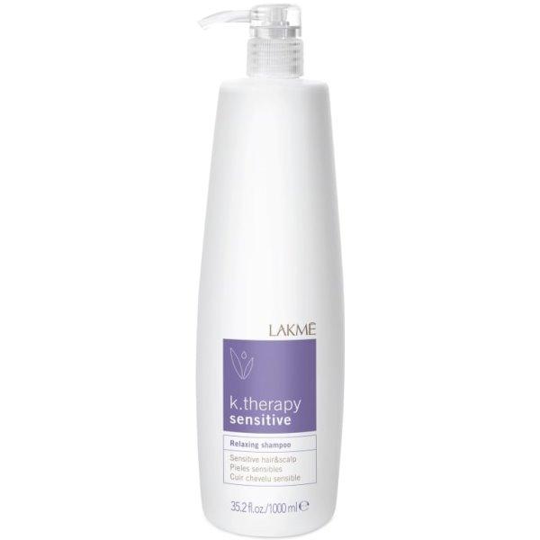 K.therapy Sensitive Relaxing Shampoo Šampūnas jautriai galvos odai, 1000 ml