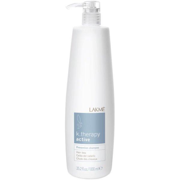 K.therapy Active Prevention Shampoo Šampūnas nuo plaukų slinkimo, 1000 ml