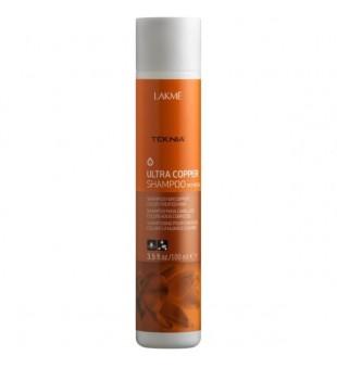 Lakme Teknia Ultra Copper Shampoo Šampūnas vario spalva dažytiems plaukams, 100 ml | inbeauty.lt