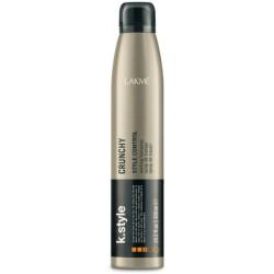 Stiprios,laksčios fiksacijos plaukų lakas K.STYLE CRUNCHY, 300 ml