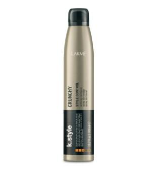 Lakme K.style Crunchy Style Control Working Hairspray Stiprios,laksčios fiksacijos plaukų lakas, 300 ml | inbeauty.lt