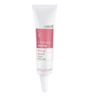 Lakme K.therapy Peeling Shock Gel Valomasis gelis pleiskanotiems plaukams, 15 ml | inbeauty.lt