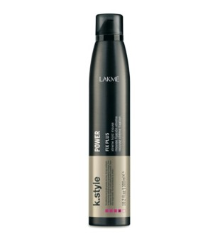 Lakme K.style Power Fix Plus Extreme Hold Mousse Ypatingai stiprios fiksacijos putos, 300 ml | inbeauty.lt