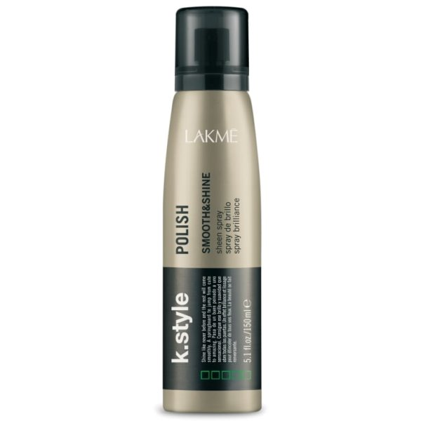 K.style Polish Smooth & Shine Sheen Spray Žvilgesys plaukams, 150 ml