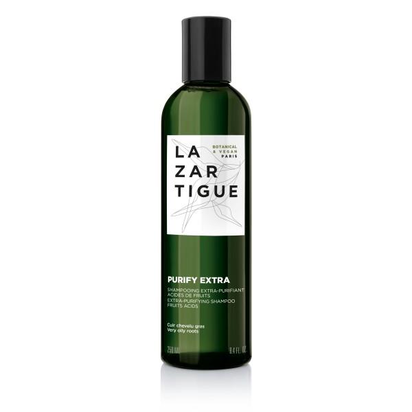 Purify Extra Shampoo Šampūnas itin riebiai galvos odai ir plaukams, 250ml