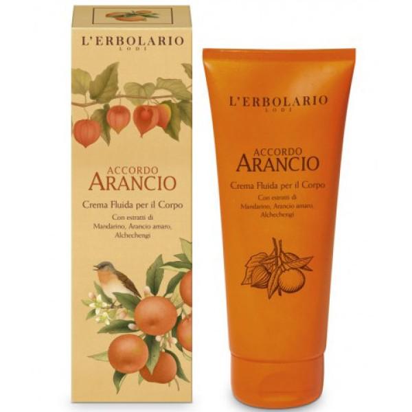 Accordo Arancio Citrusinių vaisių aromato kūno kremas, 200 ml