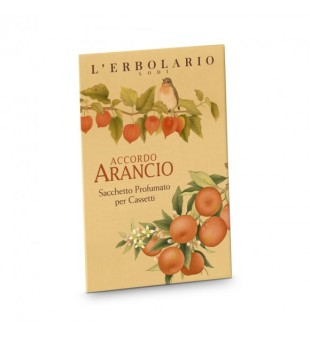L'Erbolario Accordo Arancio Citrusinių vaisių aromato kvapnus vokas, 1 vnt | inbeauty.lt