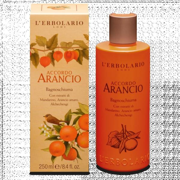 Accordo Arancio Citrusinių vaisių aromato vonios putos, 250 ml