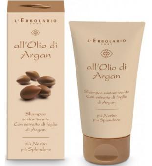 L'Erbolario All'Olio di Argan Drėkinamasis šampūnas su argano aliejumi, 150 ml | inbeauty.lt