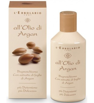 L'Erbolario All'Olio di Argan Vonios putos su argano aliejumi, 250 ml | inbeauty.lt