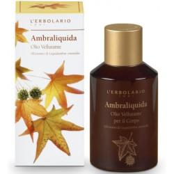 Ambraliquida Kūno aliejus su kvapiojo dervamedžio ekstraktu, 125 ml