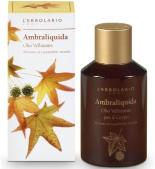 L'Erbolario Ambraliquida Kūno aliejus su kvapiojo dervamedžio ekstraktu, 125 ml | inbeauty.lt