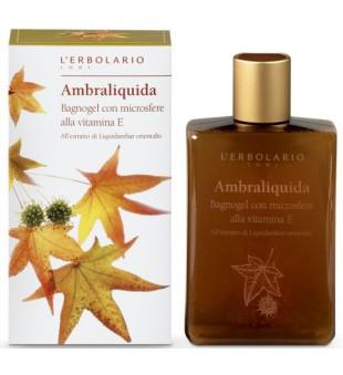 L'Erbolario Ambraliquida Dušo gelis su kvapiojo dervamedžio ekstraktu, 250 ml | inbeauty.lt