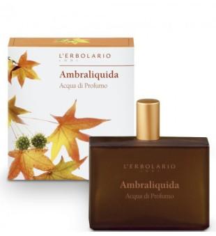 L'Erbolario Ambraliquida Eau de Parfum Purškiamas kvapusis vanduo, 100ml | inbeauty.lt