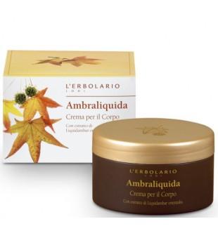 L'Erbolario Ambraliquida Kūno kremas su kvapiojo dervamedžio ekstraktu, 250ml | inbeauty.lt