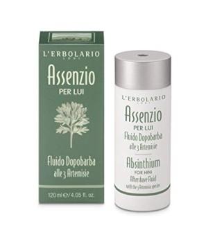 L'Erbolario Assenzio Emulsija po skutimosi su kiečio ekstraktu, 120 ml | inbeauty.lt