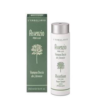 L'Erbolario Assenzio Plaukų ir kūno prausiklis vyrams, 250 ml | inbeauty.lt