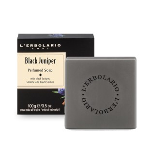 L'Erbolario Black Juniper Kvapnusis muilas, 100g | inbeauty.lt