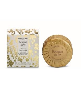 L'Erbolario Golden Bouquet Perfumed Soap Parfumuotas muilas, 100g | inbeauty.lt
