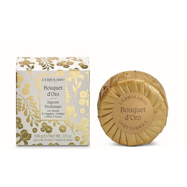 Golden Bouquet Perfumed Soap Parfumuotas muilas, 100g