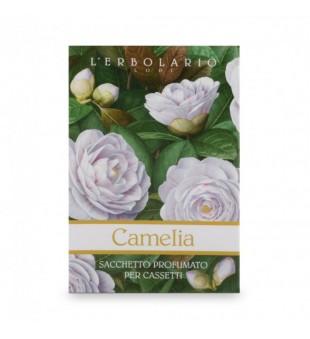 L'Erbolario Camellia Kamelijų aromato kvapnus vokas, 1 vnt. | inbeauty.lt