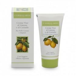Crema Viso al Limone Dieninis veido kremas su citrinų ekstraktu, 50ml