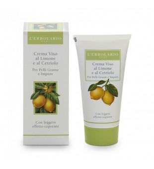 L'Erbolario Crema Viso al Limone Dieninis veido kremas su citrinų ekstraktu, 50ml   inbeauty.lt