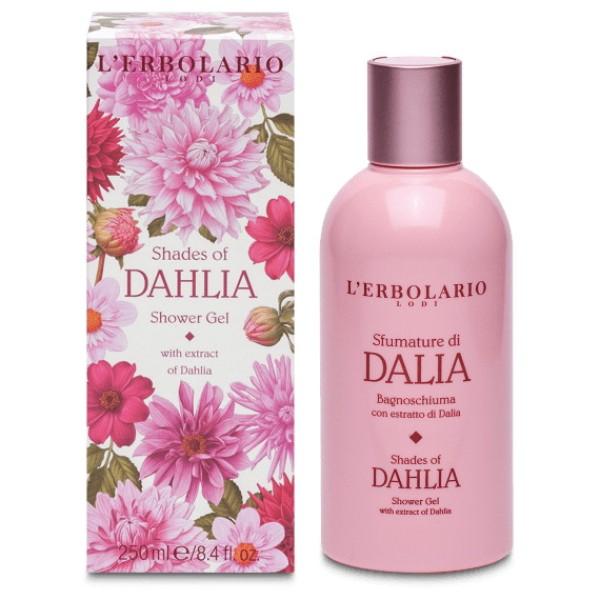Shades of Dahlia Jurginų aromato kvapusis dušo gelis, 250ml