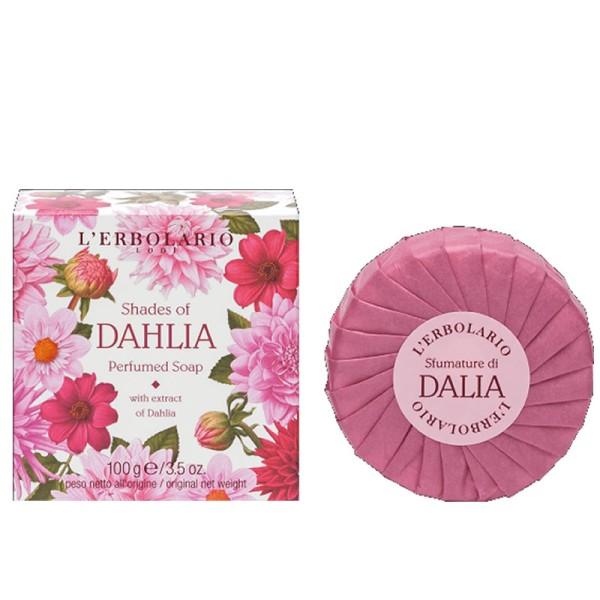 Shades of Dahlia Jurginų aromato kvapusis muilas, 100g