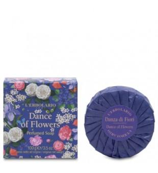 L'Erbolario Dance of Flowers Perfumed Soap Parfumuotas muilas, 100g | inbeauty.lt