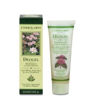 L'Erbolario Deogel Tepamas dezodorantas-gelis su mėtomis, 50 ml | inbeauty.lt