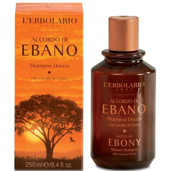 Ebony Shower Shampoo Dušo gelis, 250ml