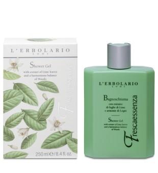 L'Erbolario Frescaessenza Dušo gelis su žaliųjų citrinų ekstraktu, 250 ml | inbeauty.lt