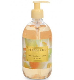 L'Erbolario Frescaschiuma Agrumi Citrusinių vaisių aromato skystas muilas, 500 ml | inbeauty.lt