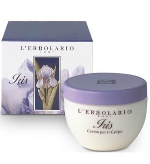 L'Erbolario Iris Vilkdalgių aromato kūno kremas, 300 ml | inbeauty.lt