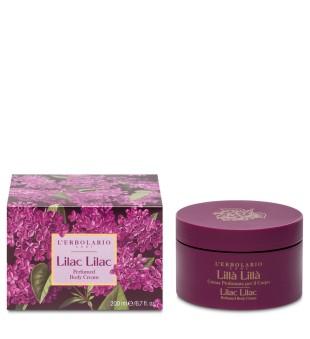 L'Erbolario Lilac Lilac Alyvų aromato kūno kremas, 200 ml | inbeauty.lt