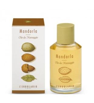 L'Erbolario Mandorla Masažinis aliejus su migdolų ekstraktu, 125 ml | inbeauty.lt
