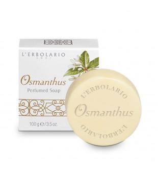 L'Erbolario Osmanthus Kvepenių aromato kvapnusis muilas, 100g | inbeauty.lt