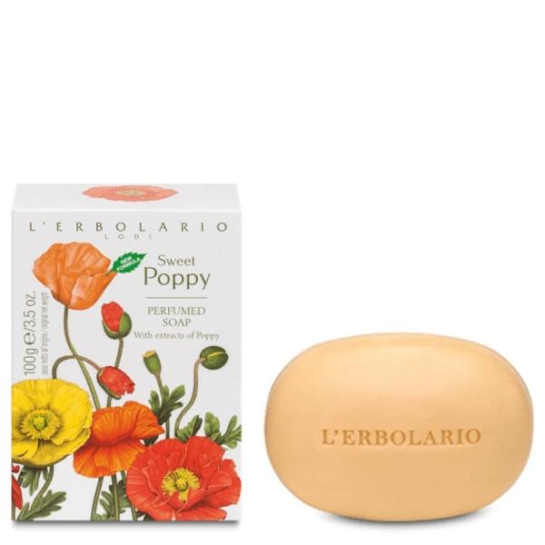 Sweet Poppy Perfumed Soap Parfumuotas muilas, 100g
