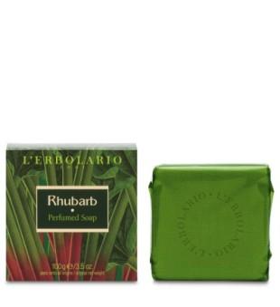 L'Erbolario Rhubarb Perfumed Soap Muilas su rabarbarų ekstraktu, 100g | inbeauty.lt